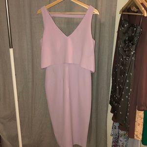ASOS lavender dress